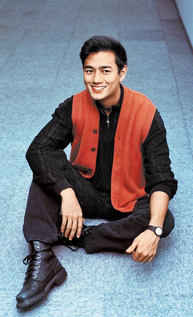 陳俊生當年以「台灣第一男模」封號出道。圖片提供:中時資料庫