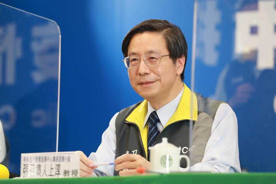 北京近日傳出第二波新冠肺炎疫情,外傳感染源與鮭魚有關,對此,張上淳在記者會上表示,機會很小。(中央流行疫情指揮中心提供/林周義台北傳真)