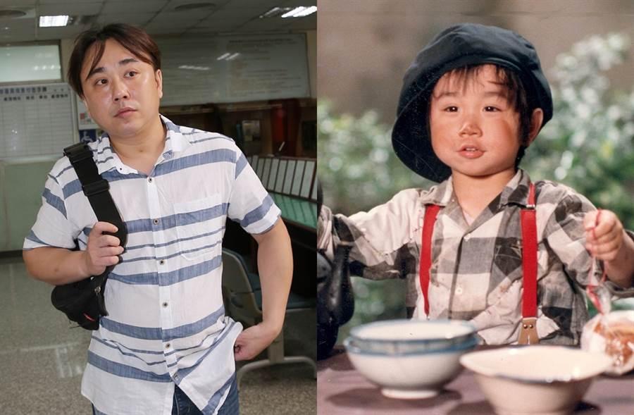 小彬彬過去是當紅童星。(圖/中時資料照片;時報週刊攝影組攝)
