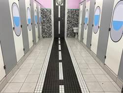 文聖國小廁所變身機艙 學生直呼好有趣