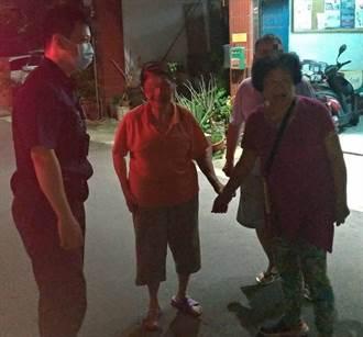 96歲人瑞找嘸路 中市警熱心助返家