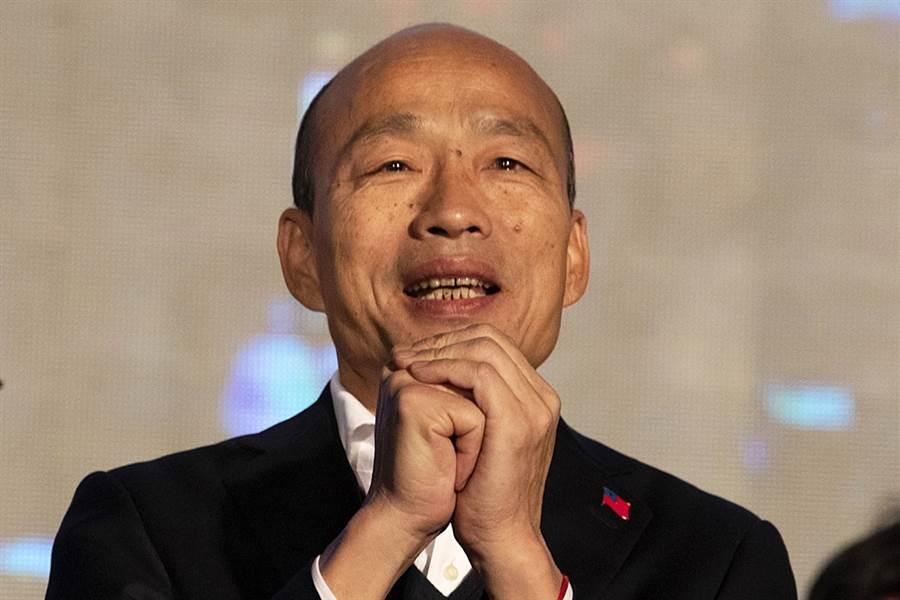 高雄市長韓國瑜罷免案通過。(資料照/美聯社)