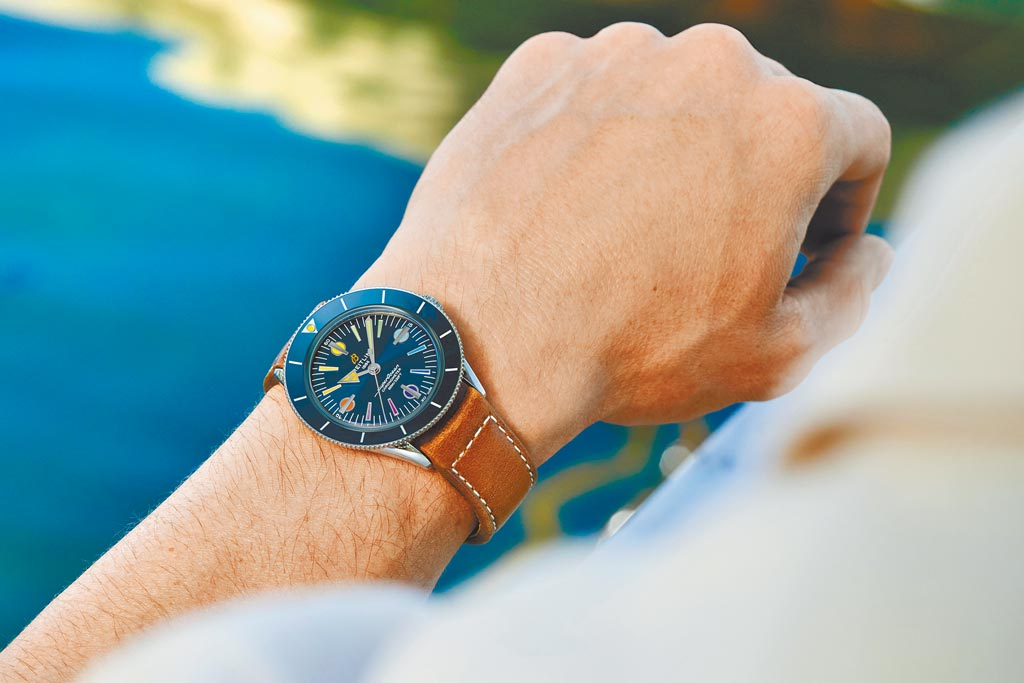 百年靈腕表與航海、潛水有深刻的聯結。(Breitling提供)
