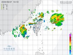 對流雲系發展 吳德榮:今天再防劇烈天氣