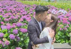 邱子芯被求婚擁吻 腿軟喊「快給我氧氣罩」
