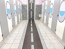 文聖國小玩創意 如廁像在搭飛機