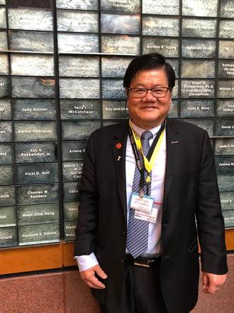 中國醫大校長洪明奇夫婦捐款成立基金  回饋美國安德森癌症中心