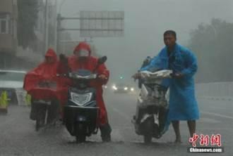 大陸多省市連日強降雨引災  損失逾百億