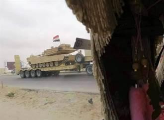埃及支援利比亞叛軍LNA 派出M1戰車
