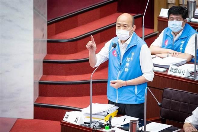 高雄市長韓國瑜。(資料照,袁庭堯攝)