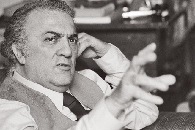 義大利電影大師  費里尼Federico Fellini, 1920-1993圖片提供/金馬影展執委會