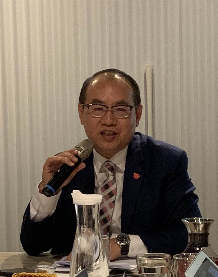 台彩總經理蔡國基:彩券業紓困5億元額度 台灣彩券已發出5686萬元。(圖/黃惠聆)