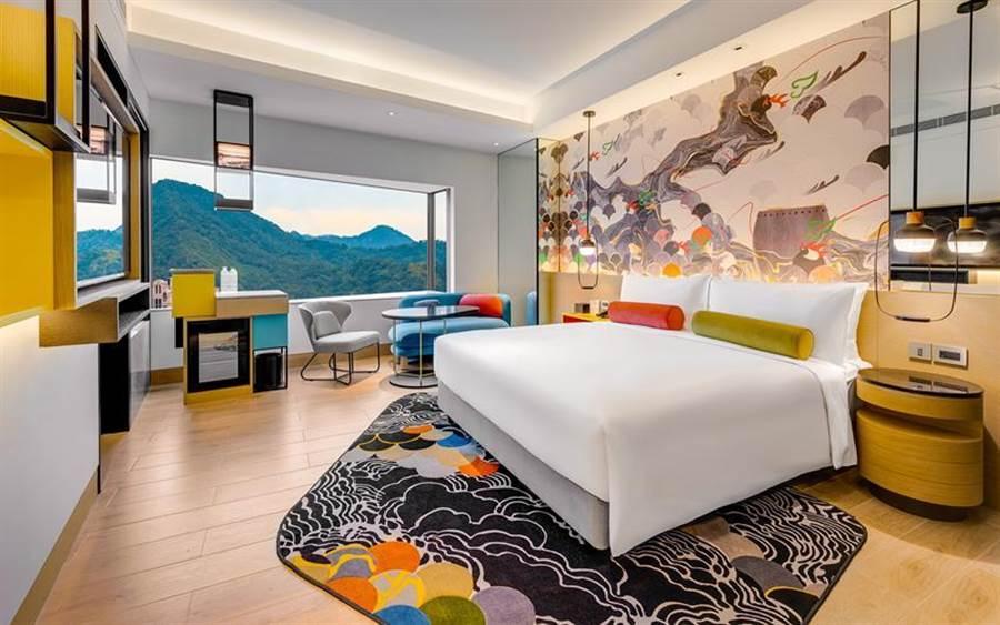 (三倍券即將上路,台北、新竹與高雄英迪格酒店推出聯合住房優惠。圖/台北英迪格酒店)