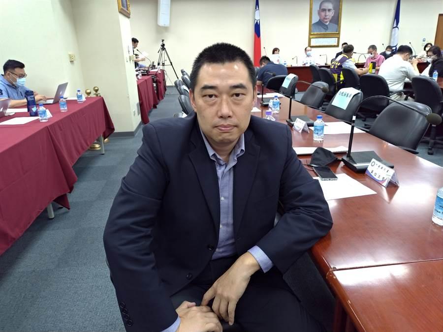 國民黨考紀會主委葉慶元。(黃福其攝)