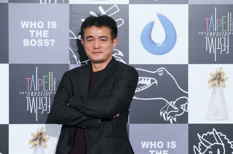 吳孝明上任聖火傳媒科技公司總裁。(圖片來源:時報金像獎)