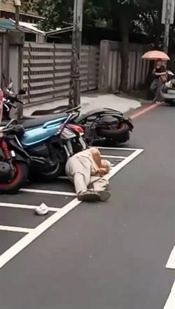 莽男駕車失控撞倒不理 拿球棒下車與人吵架