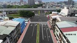 中市建成路地下道10日起二階段填平工程 維持雙向通行