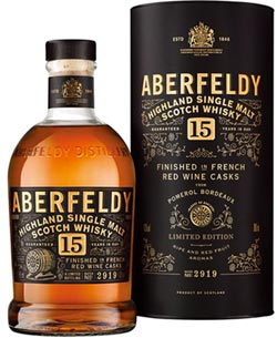 艾柏迪15年特仕版 限量1,500瓶在台上市