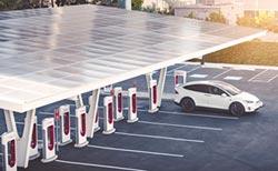 超時占用充電站 Tesla將收費