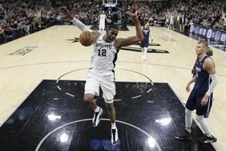 NBA》馬刺主力報銷 23年來恐首度缺席季後賽