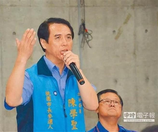 前國民黨立委陳學聖。(本報資料照)