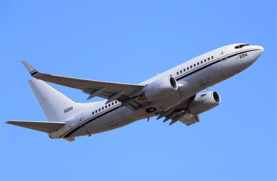 美軍同款C-40運輸機。(圖/達志影像提供)