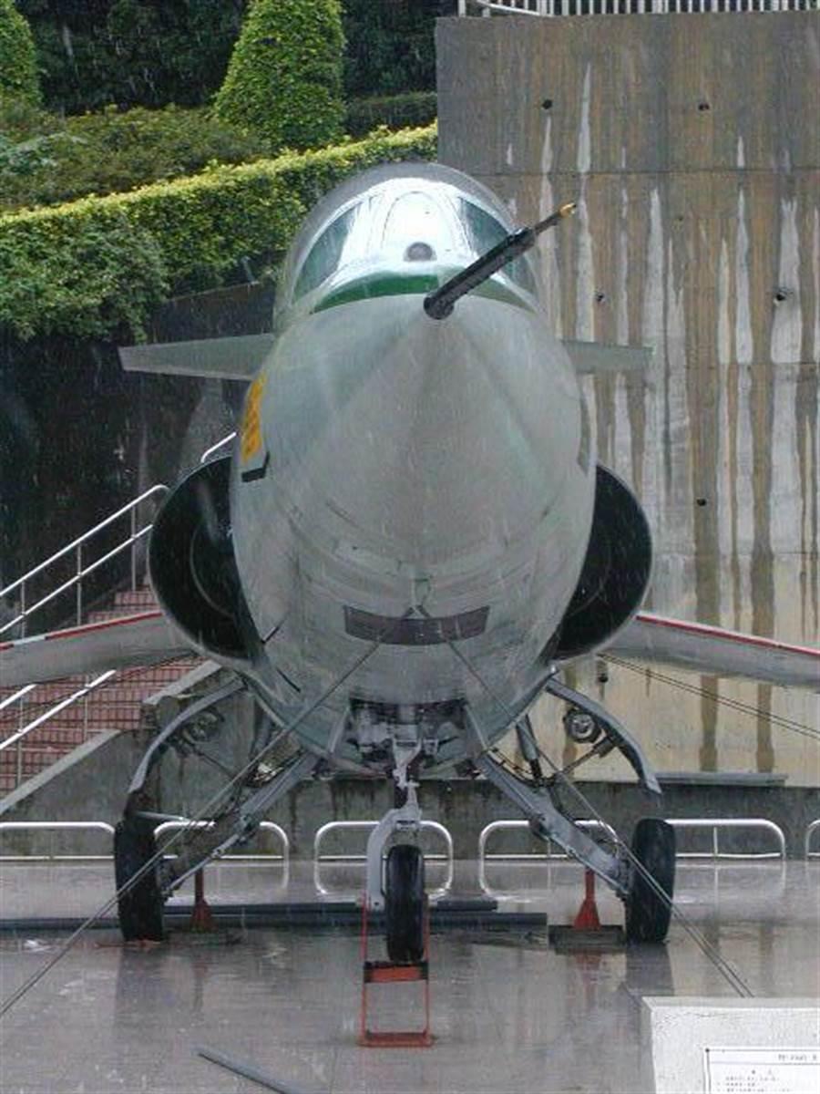 F104戰機。(黃樹德攝)