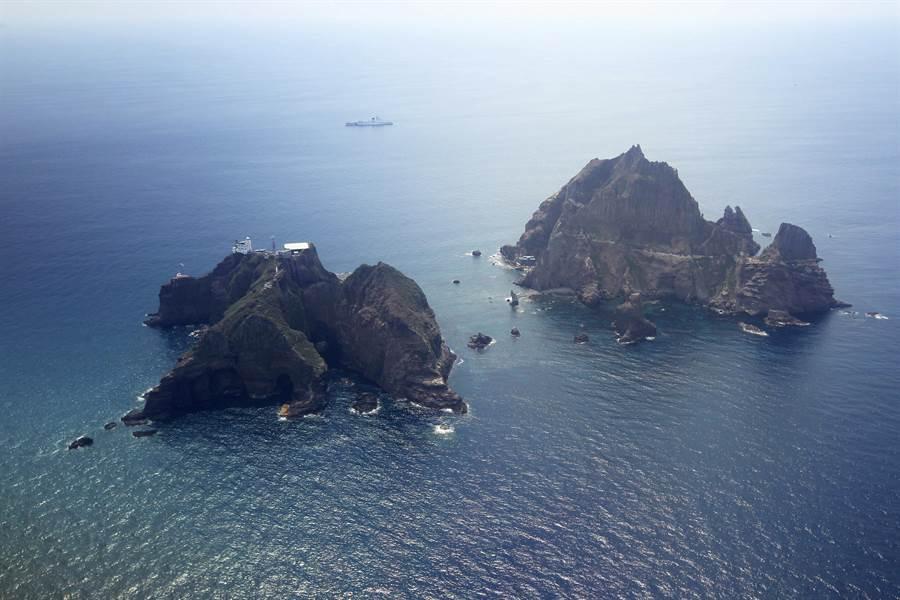 獨島。(圖/美聯社、korea pool)