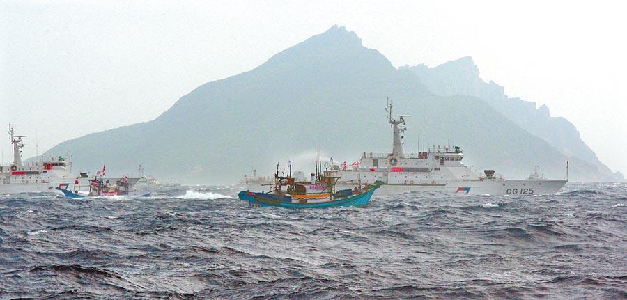 日本沖繩縣石垣市擬將釣魚台列嶼更名為「登野城尖閣」。(本報資料照片)