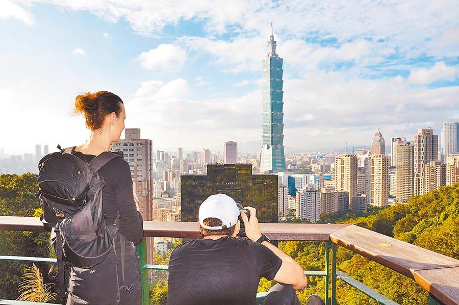 台灣仍難以取代香港成為國際金融中心。圖為台北101大樓。(本報資料照片)