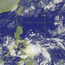 準鸚鵡颱風 最接近台灣時間點曝光