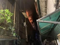 萬華暗夜惡火  64歲緬甸華僑傷重不治