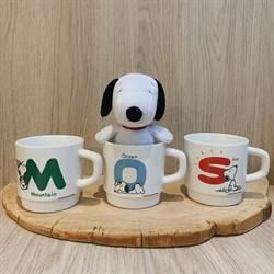 尋找摩斯SNOOPY拍照牆 打卡上傳抽絕版琺瑯馬克杯