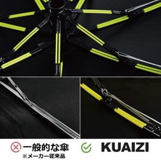 KUAIZI筷子傘 風靡各國募資平台