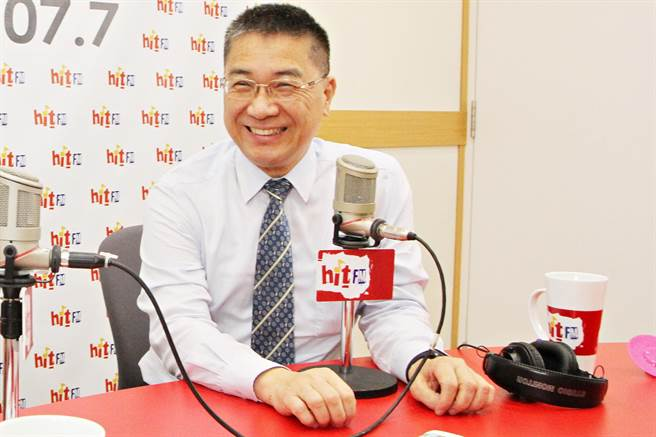 徐國勇接受廣播訪問(周玉蔻嗆新聞提供)