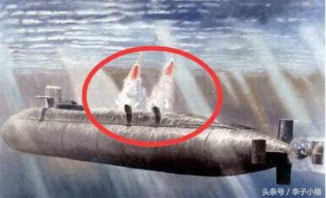 094型戰略核潛艇。(圖/每日頭條)