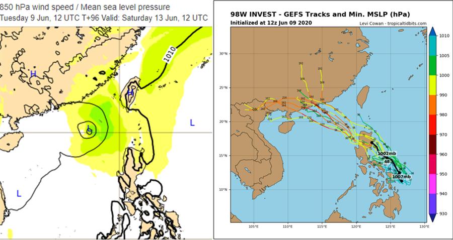 鸚鵡颱風將生成?吳德榮曝下周天氣變化關鍵。(圖/翻攝自「三立準氣象· 老大洩天機」)