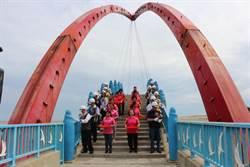 苑港彩虹橋改善工程開工  知名地標11月重新點亮