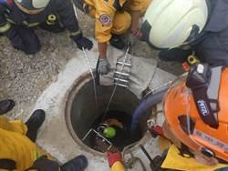 腳才剛採地就癱軟昏迷 4工人地下自來水管4工人沼氣中毒2人命危