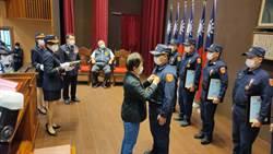 頒獎表揚模範警察 盧秀燕:人民有幸福感