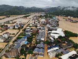 陸南方暴雨成災多地告急 增至11省262萬人受災