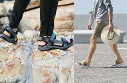 ECCO夏季涼鞋問世!戶外文青型男必備