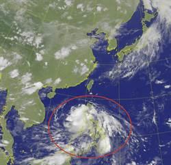 「鸚鵡」恐最快明晚或周六成颱  花東及恆春半島嚴防外圍水氣降雨