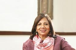印度女性企業家Kiran Mazumdar-Shaw 奪安永世界企業家大獎