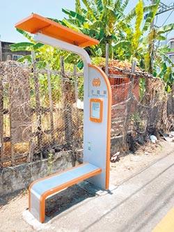 台南設30座太陽能電子紙智慧站牌 啟用