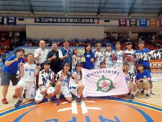 新竹高商女籃圓夢 HBL乙級籃球賽奪冠
