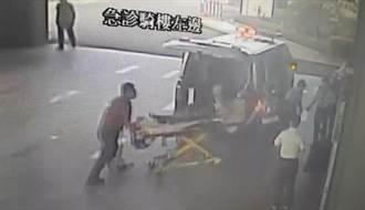 台南1名6旬女工墜樓爆頭 送醫不治
