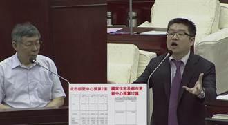 爆都更副執行長洪志生爽領14月獎金 柯:人已經跑了