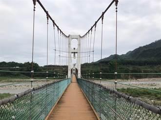 南投雙十吊橋將修復重現昔日風華