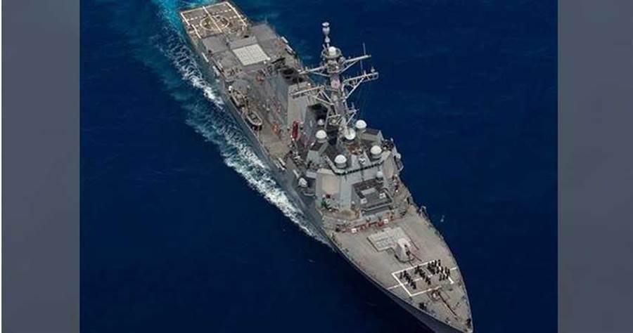 「佩拉爾塔號」今巡弋東海。取自美軍太平洋艦隊
